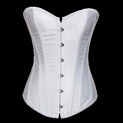 white purge corset