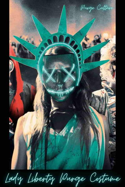 Lady Liberty best womens halloween Outfit