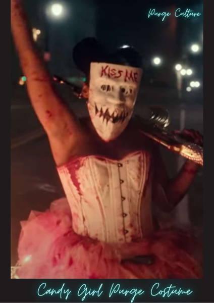 kiss me purge costume