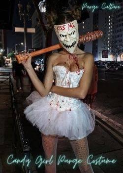 candy girl purge costume