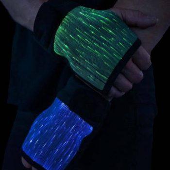 fiber optic gloves