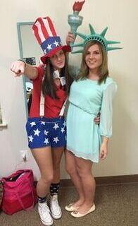 lady liberty purge costume