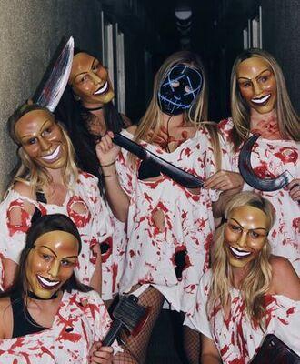girl gang purge costumes